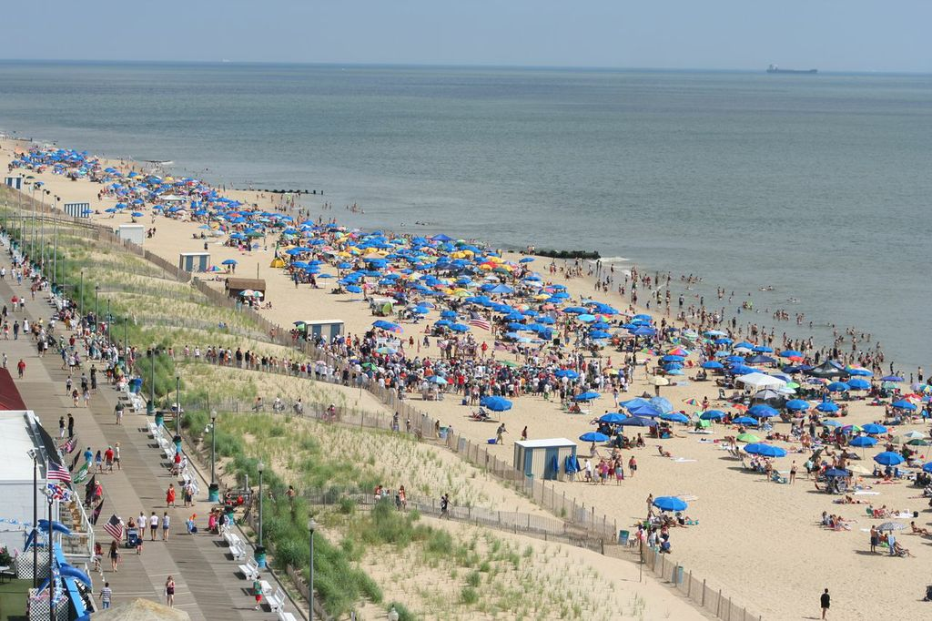 Rehoboth Beach Maryland Real Estate Property Aerial